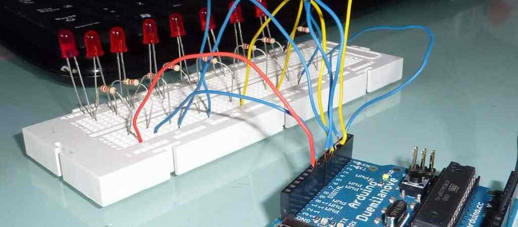 Primeros pasos con Arduino, práctica 1: el coche fantástico- Arduino, Electrónica, Proyectos