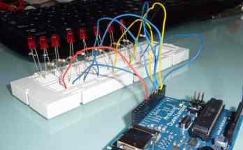 Primeros pasos con Arduino, práctica 1: el coche fantástico- arduino