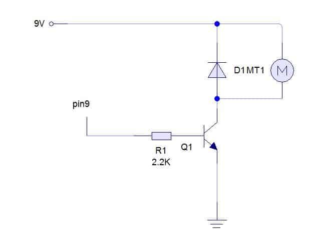 Prácticas 3 y 4 con arduino: control de un motor y un servomotor- Arduino, Electrónica