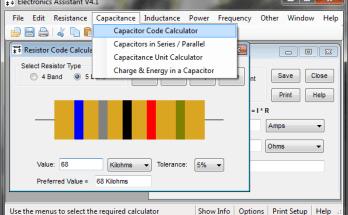 Electronics Assistant: ayuda para el novato en electrónica- Electrónica