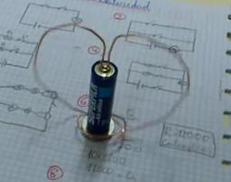 El motor eléctrico más sencillo- Electricidad