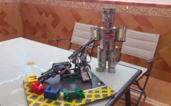 Planta de reciclaje con piezas de Lego- NXT