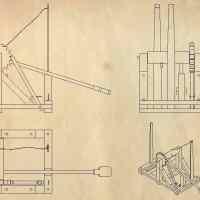 Construye una catapulta Leonardo da Vinci