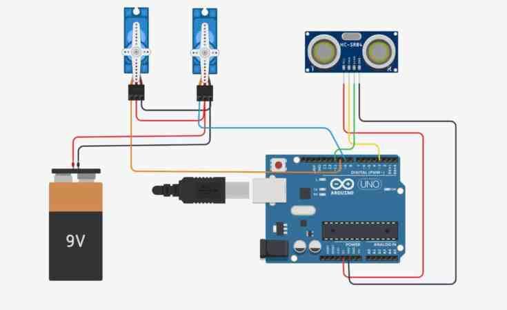 Dispensador automático de gel Hidroalcohólico con Arduino- Proyectos, Arduino