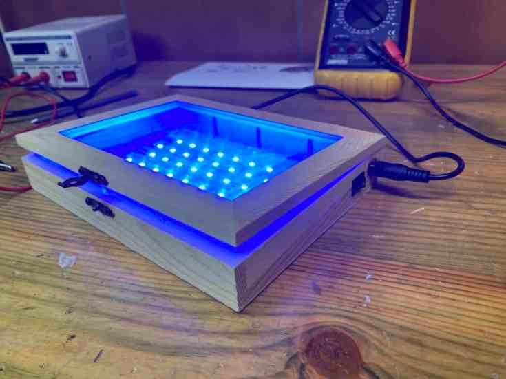 Cómo hacer tus circuitos impresos con una insoladora casera de diodos led- Proyectos, Electrónica