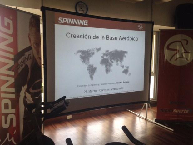 Creación de Base Aerobica del Programa Spinning de Mad Dog Athletic,. Presentador M.I. Nestor Saliñas (Chile)