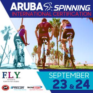 Aruba Spinning Weekend Certification Tecnosports