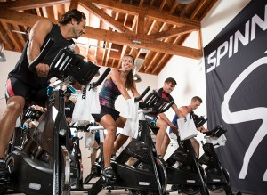 Spinning Certification for Instructors in Aruba by the Tecnosports Education Staff