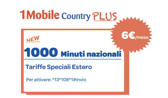 1Mobile Country Plus