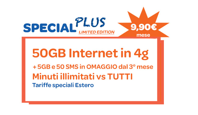 1Mobile Special Plus Limited edition