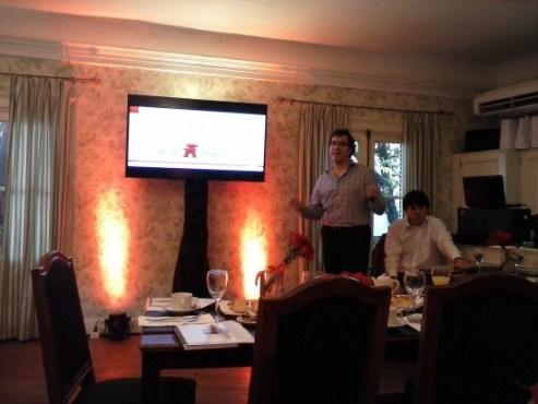 Mario Cuniberti de Oracle expone los resultados de la Encuesta