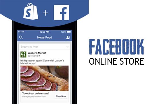 Facebook Online Store