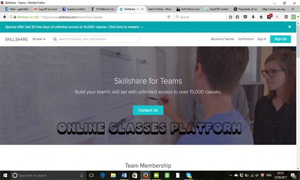 Online Classes Platform