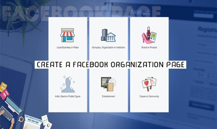 Create a Facebook Organization Page