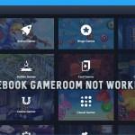 Facebook Gameroom not Working