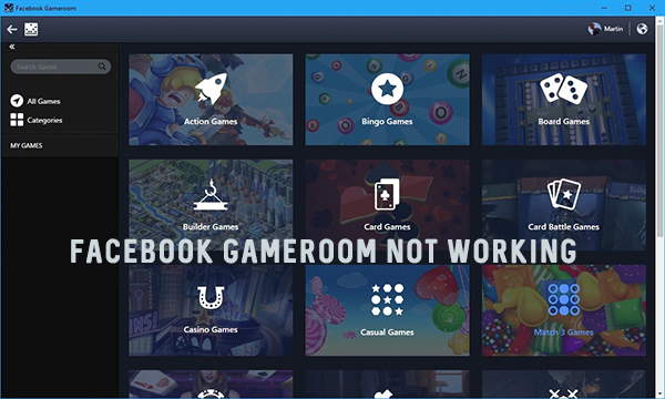 Facebook Gameroom not Working – Facebook Gameroom Won't Start