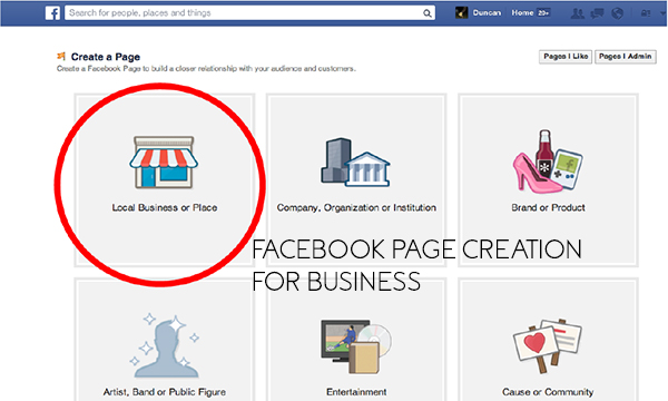 Facebook Page Creation for Business – Creating Facebook for Business