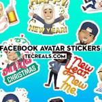 Facebook Avatar Stickers