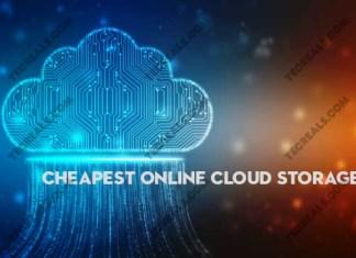 Cheapest Online Cloud Storage