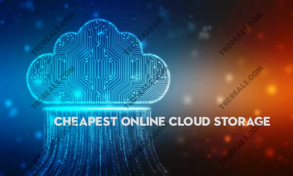 Cheapest Online Cloud Storage