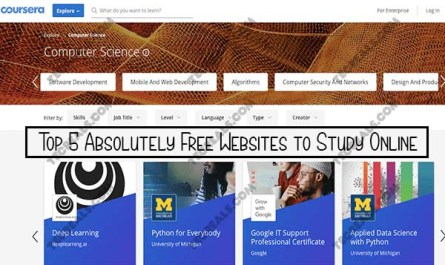 Top 5 Absolutely Free Websites to Study Online