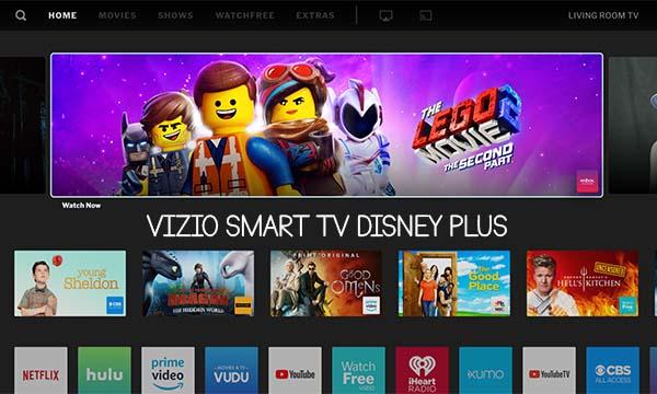 Vizio Smart TV Disney Plus