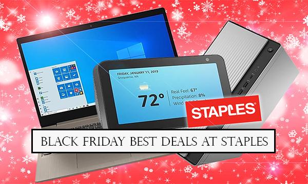 Black Friday Best Deals at Staples