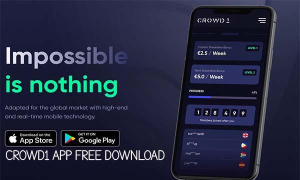 Crowd1 App Free Download