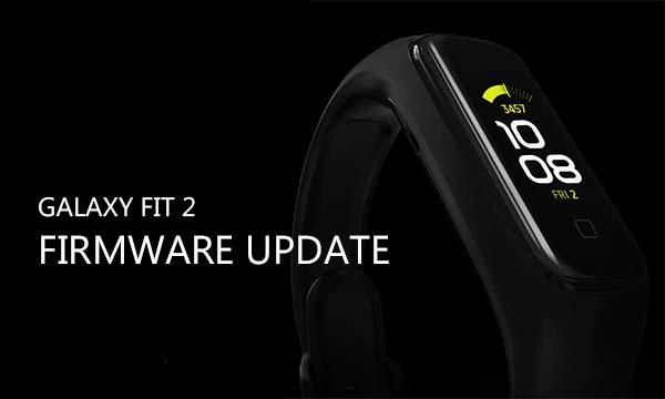 Galaxy Fit 2 Firmware Update