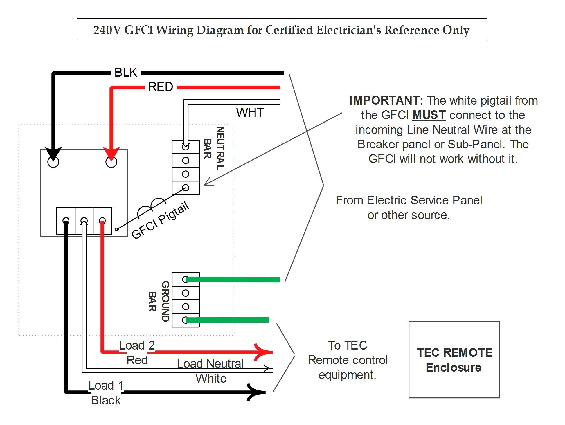 GFCI 240 Wiring?resize\=680%2C512 gfci wiring schematic gandul 45 77 79 119 GFCI Plug Wiring Diagram at readyjetset.co
