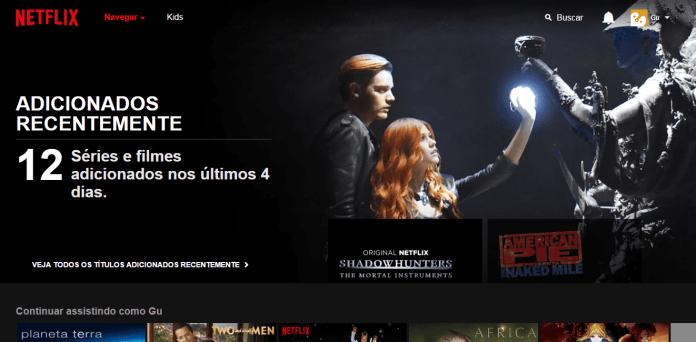 Netflix (Foto: Gustavo Scarotrhy/TecStudio) Netflix