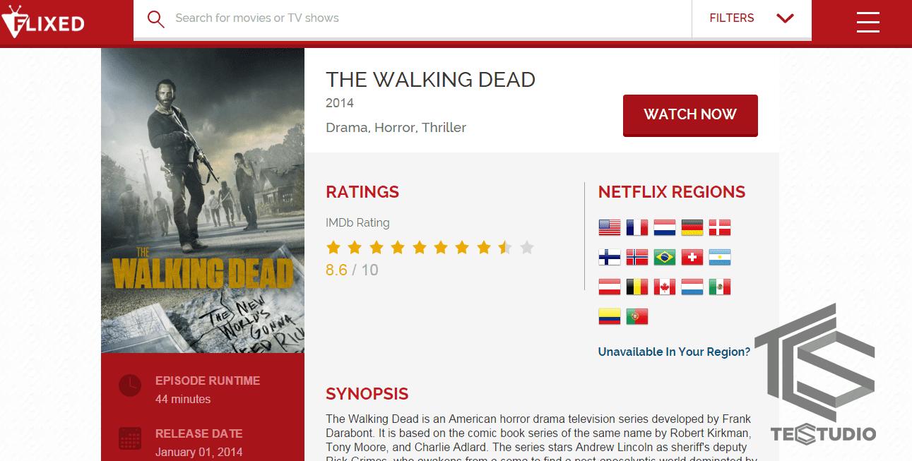 The Walking Dead Fixed buscador