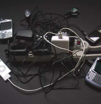 Carregador de celular com energia solar