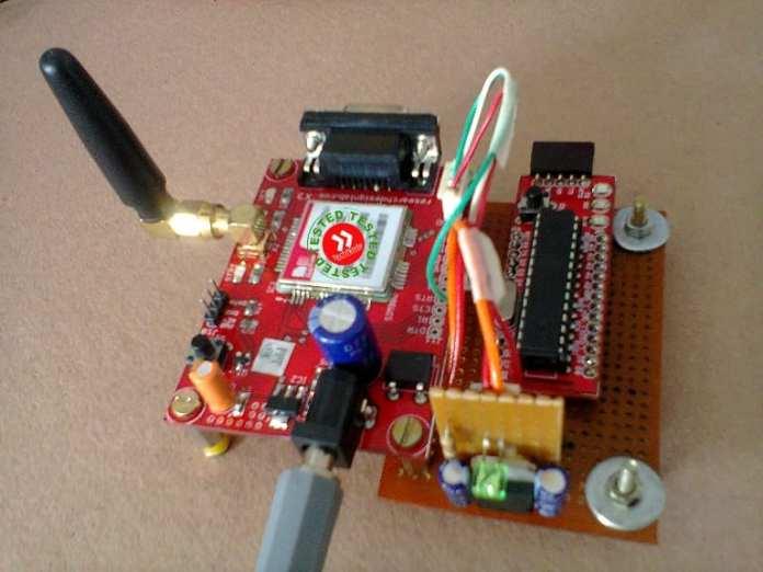 sistema de segurança arduino projetos incríveis de segurança feitos com arduino Projetos incríveis de segurança feitos com Arduino gsm security alarm prototype