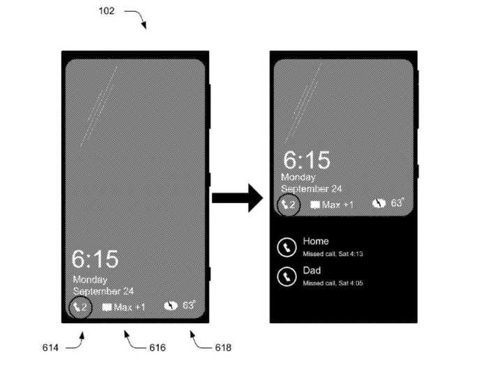 Windows 10 Mobile windows 10 mobile: nova patente pode trazer funções a tela de bloqueio Windows 10 Mobile: Nova patente pode trazer funções a tela de bloqueio Rich Lockscreen Notifications