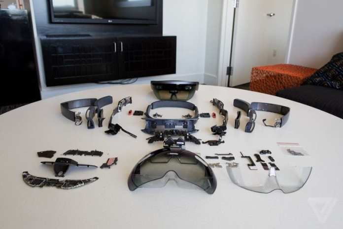 Hololens hololens desmontado: conheça o óculos de realidade aumentada por dentro