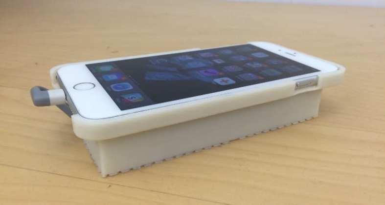 esta case foi desenvolvida para rodar android em um iphone Esta case foi desenvolvida para rodar Android em um iPhone 1 aVxrcEmBz2Y3EDxLUaFiA