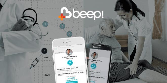 Beep Saúde beep saúde é o 'uber' para médicos e pacientes Beep Saúde é o 'Uber' para médicos e pacientes beep saude