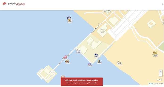 PokéVision pokévision: mapa mostra onde estão pokémons de pokémon go sem sair casa PokéVision: Mapa mostra onde estão Pokémons de Pokémon Go sem sair casa pokevision