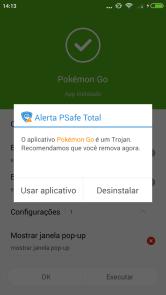 """Pokémon Go brasil tem mais de 120 mil ameaças de """"pokémon go"""" detectados pela psafe Brasil tem mais de 120 mil ameaças de """"Pokémon GO"""" detectados pela PSafe Screenshot 2016 08 22 14 13 05 com"""