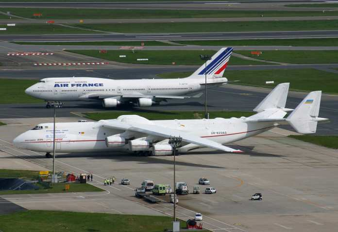 Antonov An-225 antonov an-225 faz pouso em campinas: maior avião do mundo