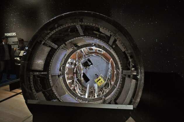 NASA 'nasa: uma aventura humana': exposição faz você se sentir astronauta 'NASA: Uma aventura humana': Exposição faz você se sentir astronauta nasaartscience06
