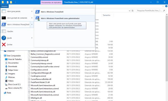 Paint 3D vazou! baixe agora o novo paint 3d em seu windows 10 sem o insider Vazou! Baixe agora o novo Paint 3D em seu Windows 10 sem o Insider windowspowershell