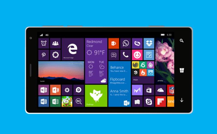 "Windows 10 Mobile microsoft prepara windows 10 mobile redstone 3 com nova interface ""neon"""