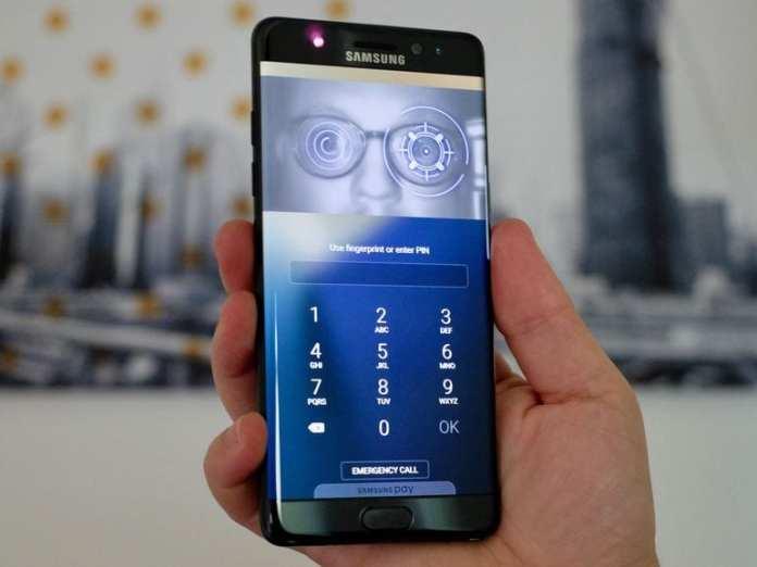 Galaxy S8 samsung galaxy s8 pode destronar google pixel Samsung Galaxy S8 pode destronar Google Pixel samsung note 7 iris scanner unlock
