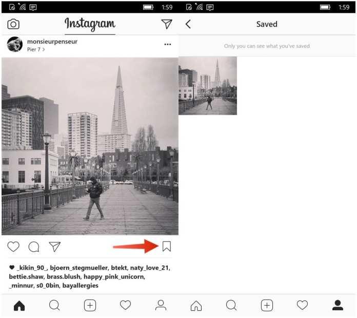 Windows 10 Mobile instagram do windows 10 mobile agora permite salvar fotos do feed Instagram do Windows 10 Mobile agora permite salvar fotos do Feed instagram save button shots