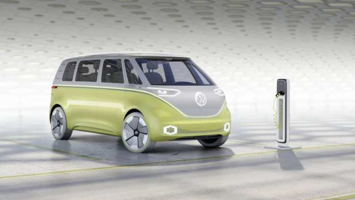 volkswagen lançará a clássica kombi em uma versão elétrica em 2022 Volkswagen lançará a clássica Kombi em uma versão elétrica em 2022 id buzz concept 6743