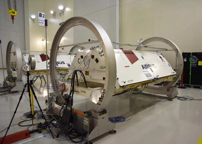 spacex lançará satélites da nasa para observar as secas e o derretimento das placas de gelo SpaceX lançará satélites da NASA para observar as secas e o derretimento das placas de gelo GRACE FO