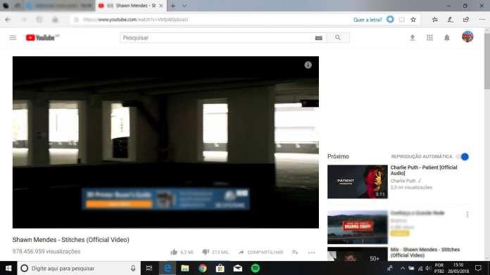 Microsoft Edge microsoft edge Com Cortana, Microsoft Edge agora exibe letra de músicas em vídeos do Youtube edge lycris