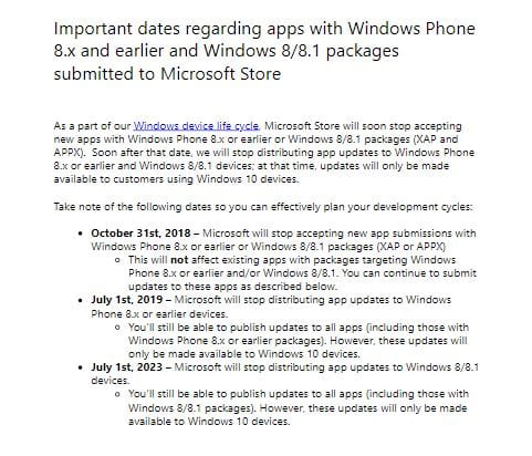 Windows Phone 8.1 windows phone Windows Phone 8.1 não receberá mais aplicativos novos a partir de Outubro microsoft apps